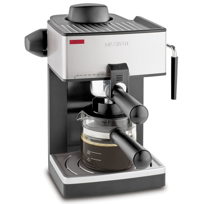 Mr. Coffee ECM160 4 Cup Steam Espresso Machine