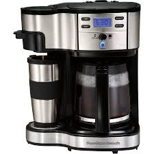best commercial coffee machines - Hamilton Beach 49980A 2-Way Coffee Maker
