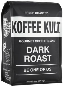 Best Coffee Beans: Koffee Kult Dark Roast Coffee Beans