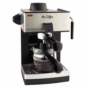 Cheap Espresso Machine: Mr. Coffee ECM160