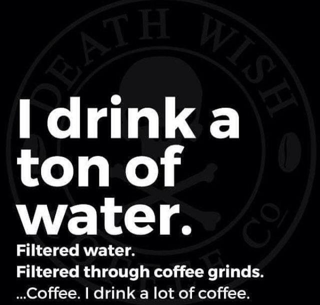 Your body is 80% coffee