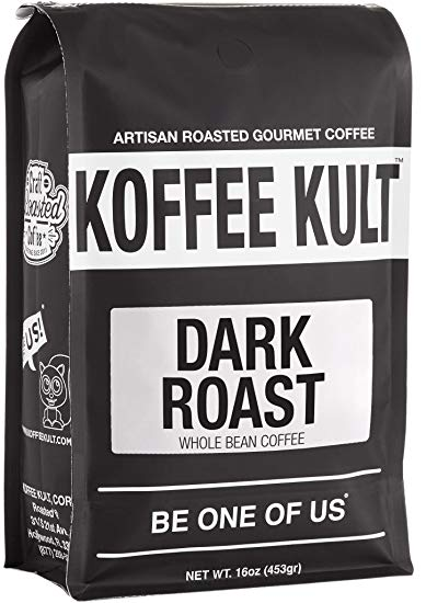 Koffee Kult Dark Roast Espresso Coffee Beans
