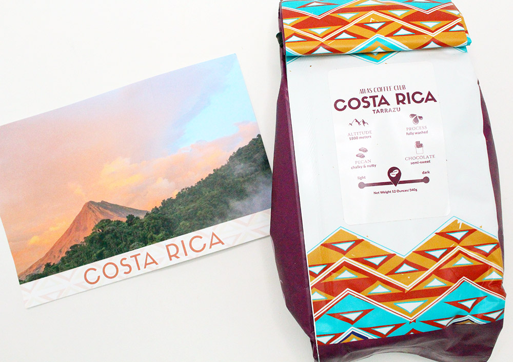 Coffee subscription boxes: Atlas Coffee Club