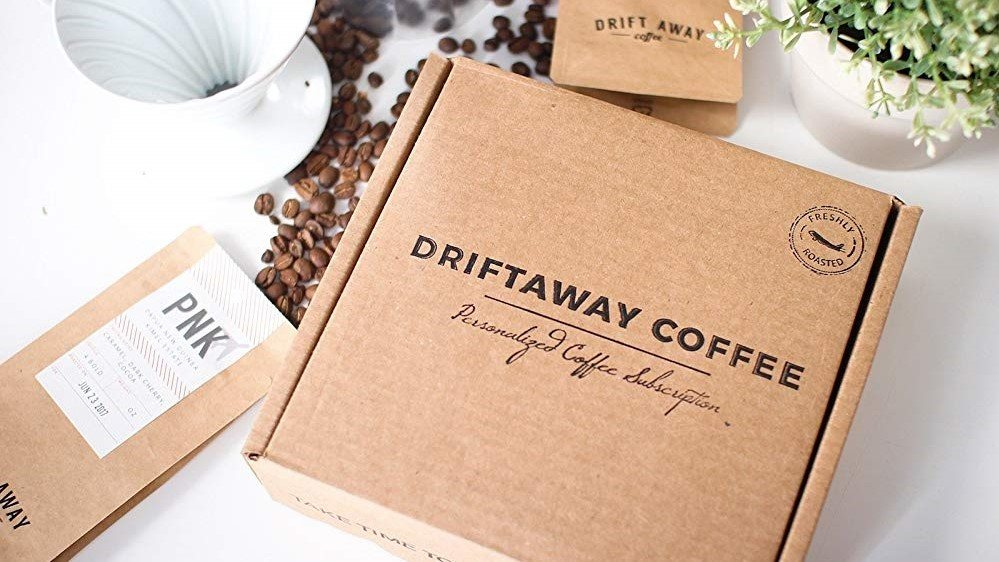 Coffee subscription boxes: Driftaway Coffee