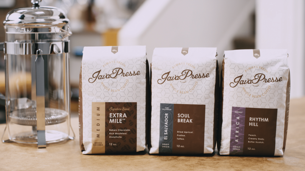 Coffee Subscription Boxes: Java Presse Coffee