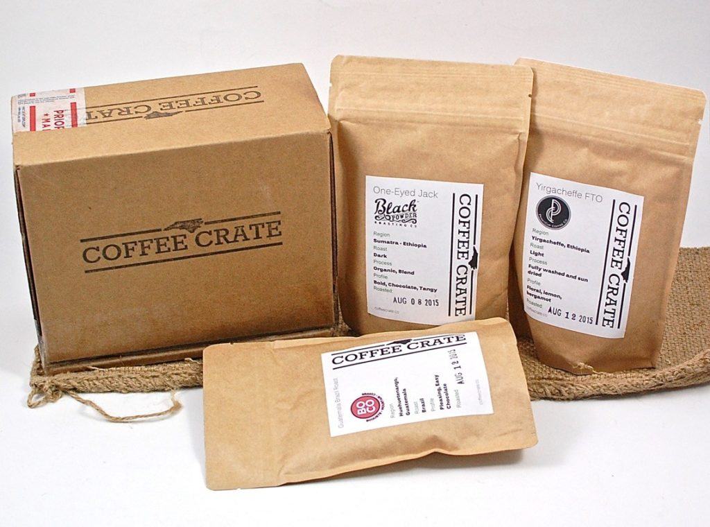 Coffee subscription boxes: Coffee Crate