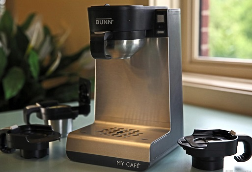 Single-Serve Coffee Makers: BUNN MCU Single Cup Multi-Use Home Coffee Brewer