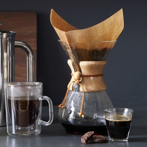 manual brewing methods: Chemex