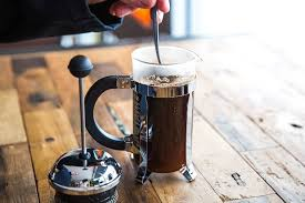 French Press manual brewing method